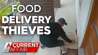 Food thieves caught on camera | A Current Affair