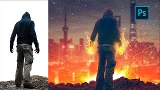 Photoshop Manipulation Tutorial | Welcome to Hell | Photo Effect