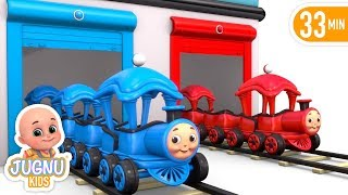 Toy Train -  Color song -Train for kids | Learn Colors for Children with Train Toy - jugnu kids