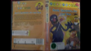Play With Me Sesame Head Shoulders Fur And Toes Australian DVD