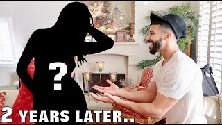 SURPRISING MY CRUSH AFTER 2 YEARS... (emotional)