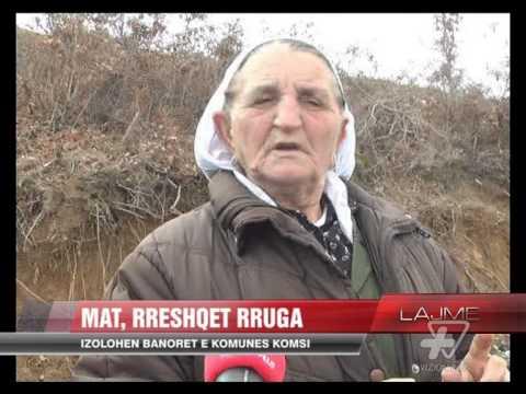 Mat izolohen banorët e komunës Komsi News Lajme Vizion Plus
