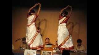 Momo chitte Niti Nritye (Hindi version) - Dance performance by Debi & Nita Mandal