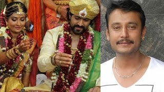 Why Darshan Didn't attend the Yash Radika Pandit Marriage ?? || Yash and Darshan Clash