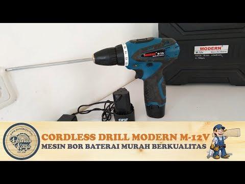 Xxx Mp4 Tes Rekomendasi Mesin Bor Baterai Modern M 12V Cordless Drill Portable Murah AWET Tahan Lama 3gp Sex