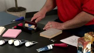 How to use Speedball Block Printing Materials