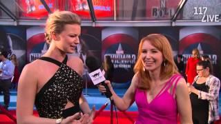 Emily VanCamp Discusses Sharon Carter's Role in Marvel's Captain America: Civil War