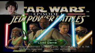 Star Wars Episode I Jedi Power Battles (Jedi Mode) Obi Wan Walkthrough-Trade Federation Battleship!