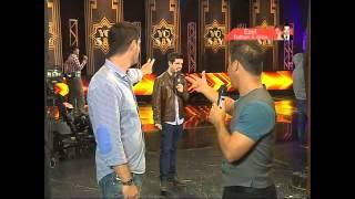 Ricardo Morán quedó sorprendido con imitadores de Sin Bandera