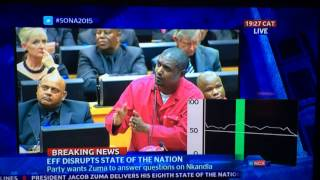 (SONA) Is Zuma Going To Pay Cash,EFT or E-wallet? Funny Question
