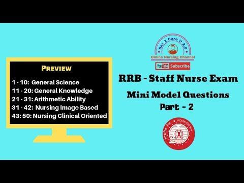 Xxx Mp4 RRB Staff Nurse Exam Model Questions Part 2 3gp Sex