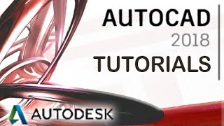 AutoCAD 2018 - Tutorial for Beginners [+General Overview]*