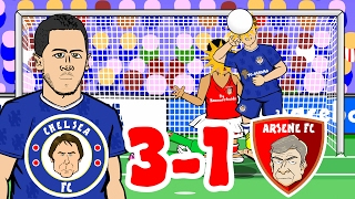 🎤CHELSEA 3-1 ARSENAL - the SONG🎤 (2017 Stamford Bridge Hazard Goal, Alonso, Giroud, Fabregas)