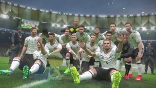 PS4 PES 2017 Gameplay Chile vs Germany HD
