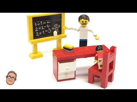 Xxx Mp4 LEGO CLASSROOM 291 Blackboard And School Desk Vintage 1973 Homemaker 3gp Sex