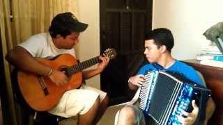 Guitarra Vallenata: Mi Mejor Canción. Acordeón y Guitarra