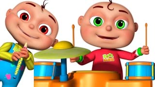 Five Little Babies Playing Music | Five Little Babies Collection | Zool Babies Fun Songs