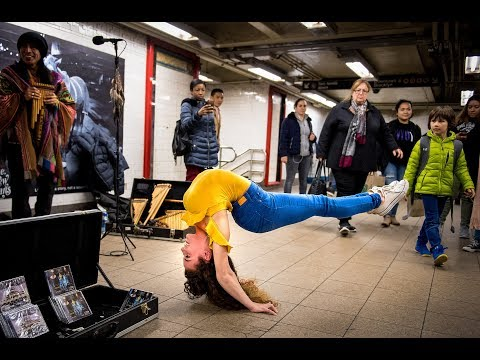 Xxx Mp4 SOFIE DOSSI BREAKS THE 10 MINUTE PHOTO CHALLENGE RECORD IN NYC SUBWAY 3gp Sex