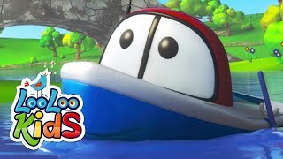 Row, Row, Row Your Boat - THE BEST Songs for Children | LooLoo Kids