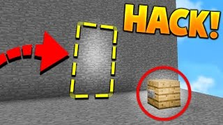 SECRET ROOM HACK in Minecraft MURDER MYSTERY!