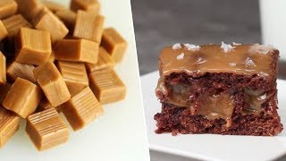 Salted Caramel Brownies Review- Buzzfeed Test #126