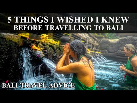 BALI Travel. 5 Things You Should Know Before Travelling to Bali Indonesia