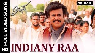 Indiany Raa Full Song | Lingaa | Telugu Video Song