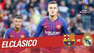 ElClásico - Gol de Philippe Coutinho (1-0) FC Barcelona vs Real Madrid