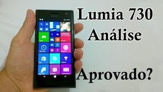 Nokia Lumia 730 Análise do Aparelho (Review BRASIL)