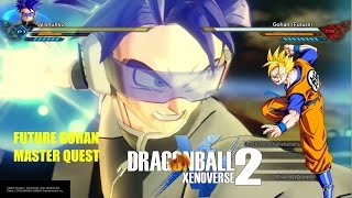 DRAGON BALL XENOVERSE 2 Future gohan Master Quest Full