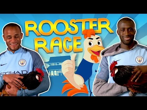 watch MAN CITY PLAYERS GO ROOSTER RACING   Chinese New Year 2017