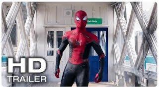 SPIDER MAN FAR FROM HOME Spider Suit Damage Trailer (NEW 2019) Superhero Movie HD