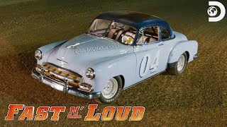 Gas Monkey's '52 Chevy Coupe Stock Car | Fast N' Loud