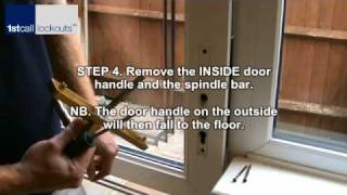 upvc multipoint strip lock removal and fitting.wmv