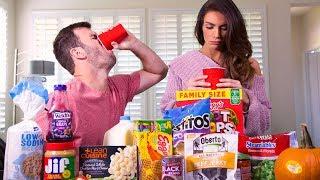 SMOOTHIE CHALLENGE BF VS GF   Brodie & Kelsey