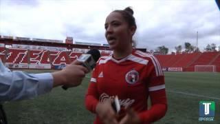 Entrevista con Karla Alejandra Pérez, jugadora de Xolas - TJ Sports