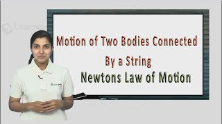 Know more about Motion of Two Bodies Connected By a String. JEE Physics XI Newton's Law of Motion