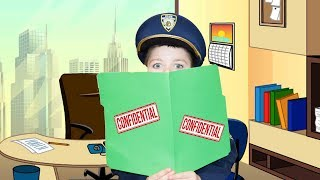 Officer Smalls Falls Asleep on the Job a Funny Video For Kids