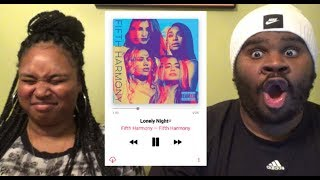 FIFTH HARMONY - LONELY NIGHT - REACTION