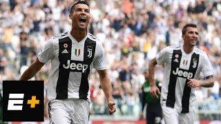 Cristiano Ronaldo scores first two goals for Juventus   ESPN