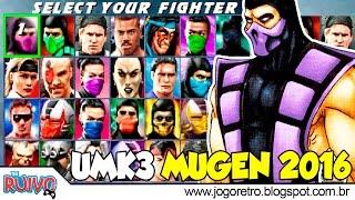 Ultimate Mortal Kombat 3 (Versão 1.1) MUGEN 2016