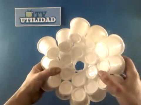 Lámpara de diseño hecha por ti mismo