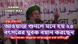 যার কন্ঠে এখনো আগুন জলে | Allama Tafazzul Haque Hobigonji | Bangla New Waz 2017