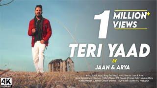 TERI YAAD   JAAN & ARYA    New Hindi Songs 2017