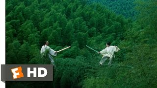 Crouching Tiger, Hidden Dragon (7/8) Movie CLIP - Bamboo Forest Fight (2000) HD
