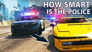 GTA V - How smart is the Police?