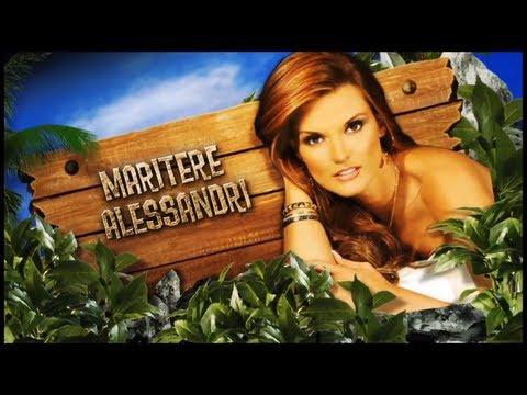 Maritere Alessandri Presentación de LA ISLA EL REALITY 2013 Temporada 2 maalessandri