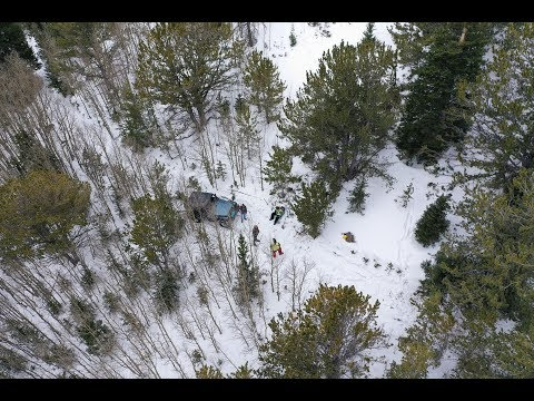 Colorado 4x4 Rescue and Recovery Christmas Eve 2018 Pickle Gulch TJ Recovery