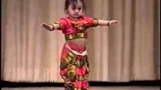 Vinaini's Dance Performance - 1 year Old Bharata Natyam