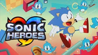 Sonic Mania Opening with Sonic Heroes